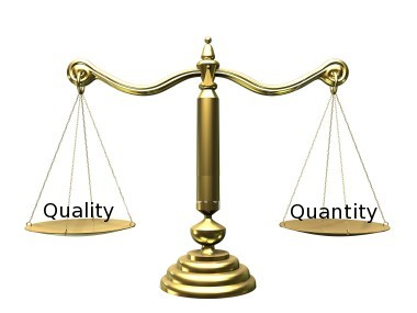 Aptel Research Quality Quantity Scale